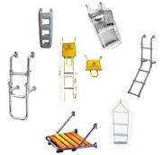 Boarding ladders etc