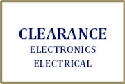 Clearance Electronics etc