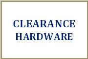 Clearance Hardware