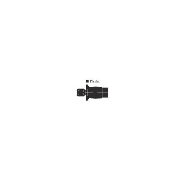 7 Pin Plastic Plug 'N' Type (Black)