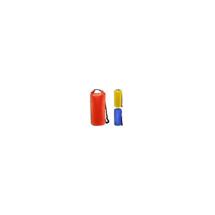Overboard Dry Tube Bags 40 Ltr Blue, Red & Yellow