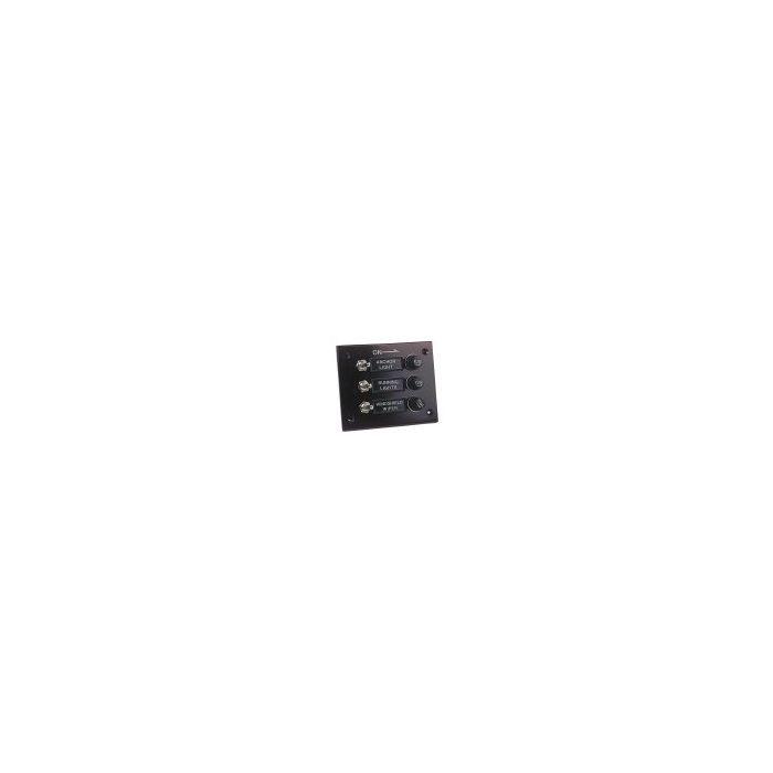 Bakelite 6 gang Switch Panel