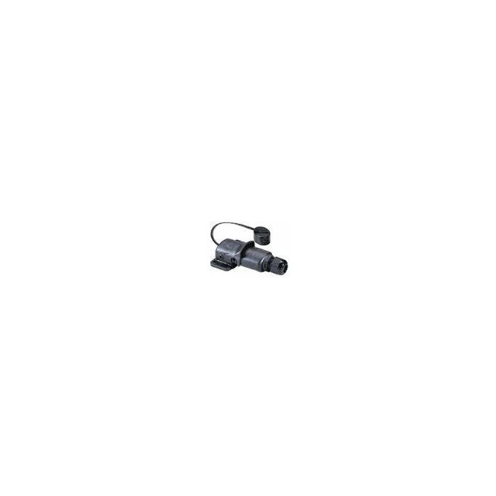Aqua Signal Horizontal Deck Plug & Socket  (16 amp,Up to 42V)