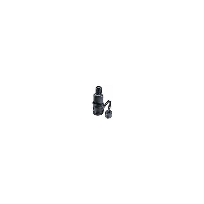 Aqua Signal Vertical Deck Plug & Socket  (16 amp,Up to 42V)