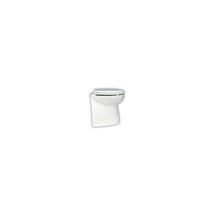 Jabsco Deluxe Flush Straight Back Toilet with Intake Pump 12V