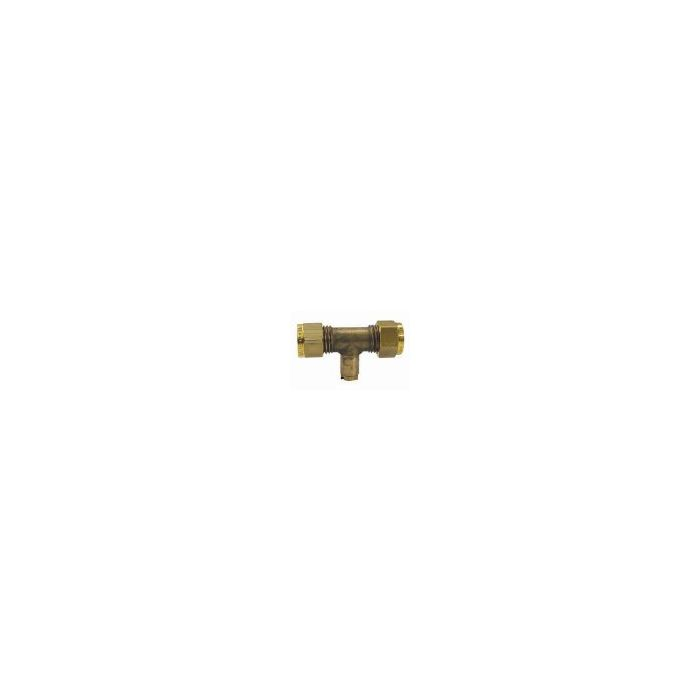 8mm Gas Test Point Tee