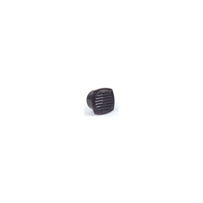 ABS Blower Vents 73mm With Spigot Blk / Wt