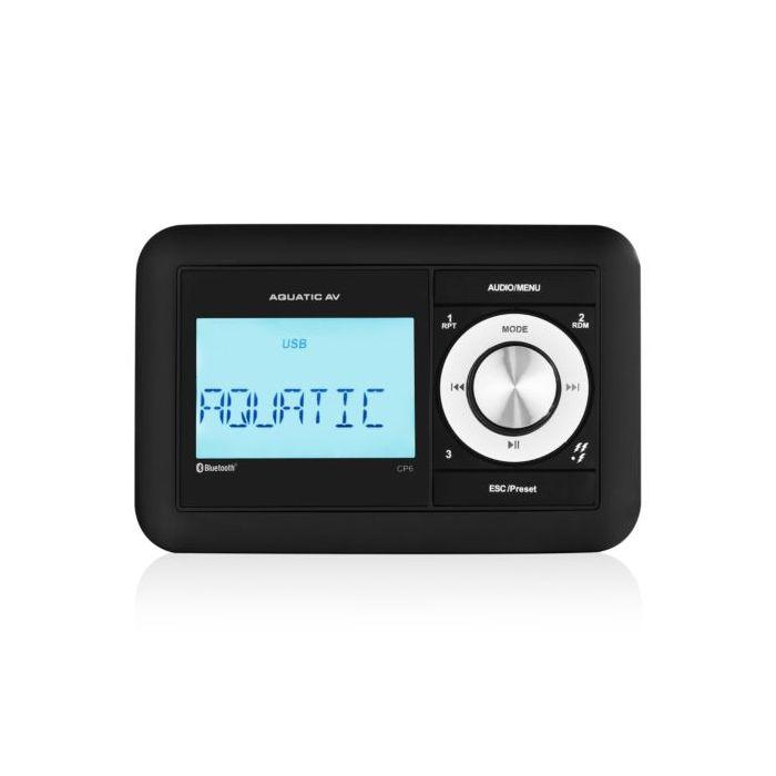 Aquatic AV CP6 Compact  Marine Bluetooth Stereo