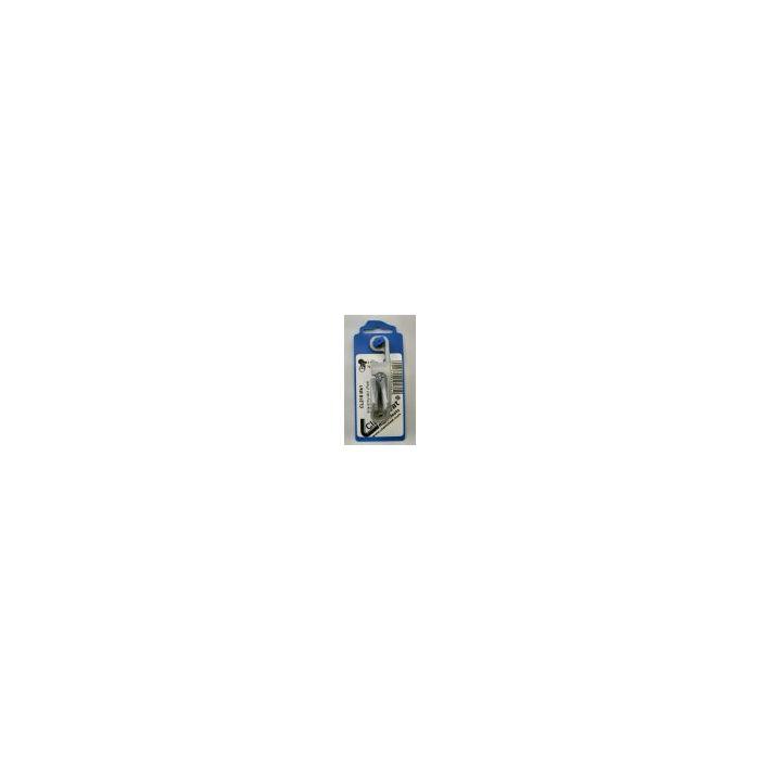 RWO Clam Cleat 6mm Side (P) Silver MK1