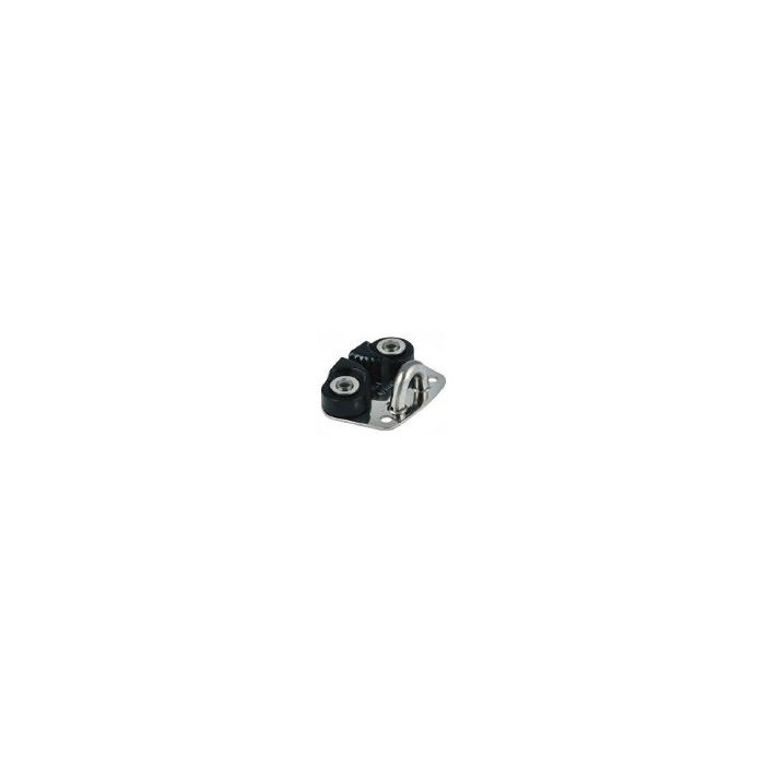 Allen Mini Alloy Cam Cleat with S/S Base and Fairlead 2 - 6mm