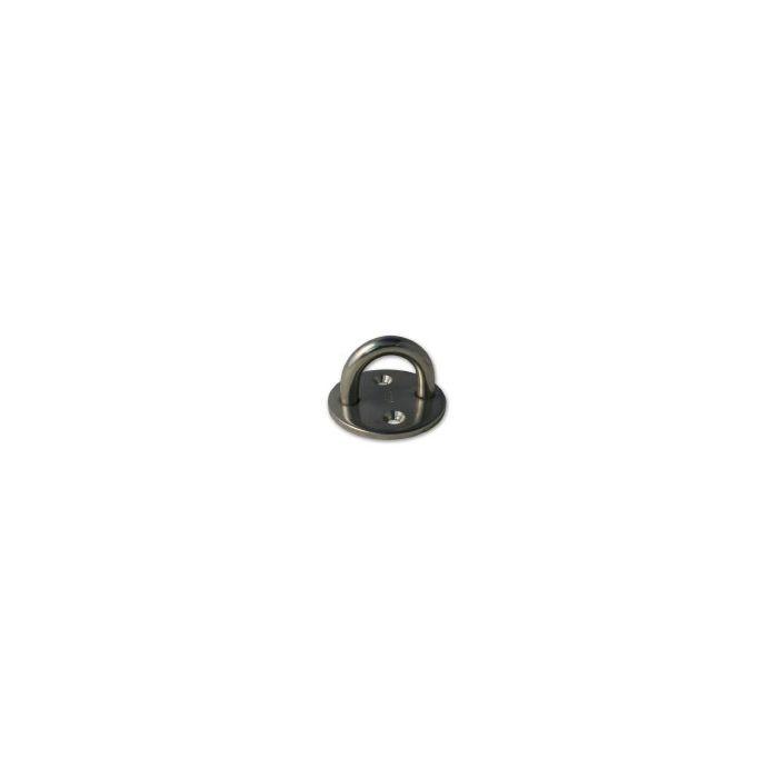 Round Eye Plate 6mm 2 Hole