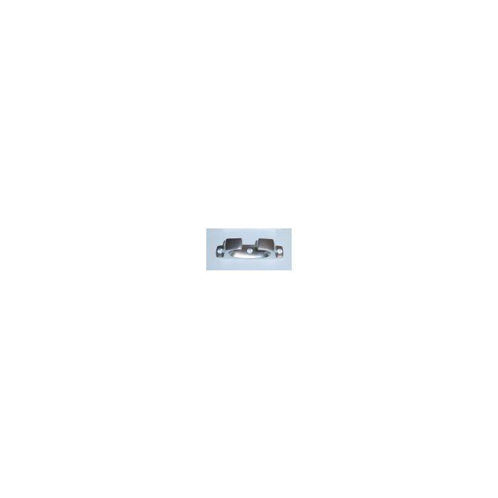 Alloy Straight Fairlead - 200mm