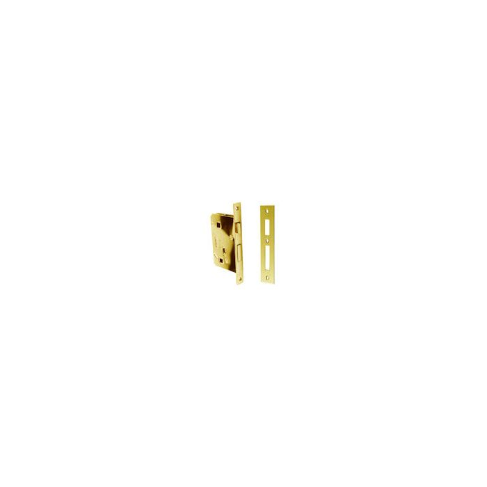 Mortise Lock For Toilet Or Bathrooms Brass Left