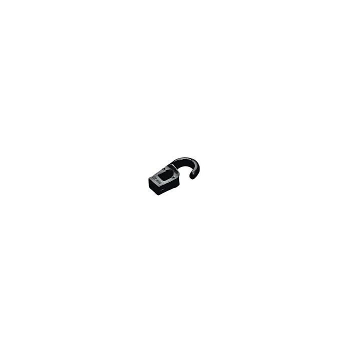 38mm Hook for Rope Dia 6mm with Eye Black