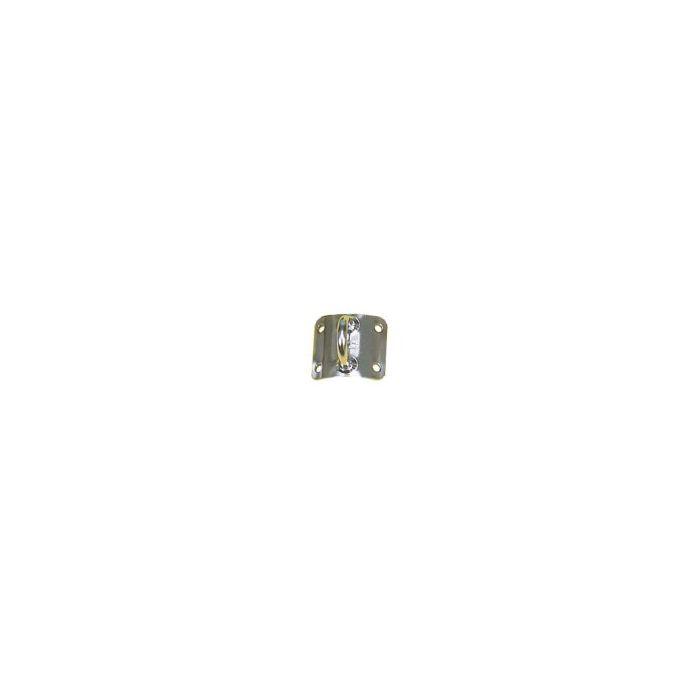 Seasure Dinghy Mast Plate Curved- Vertical Eye
