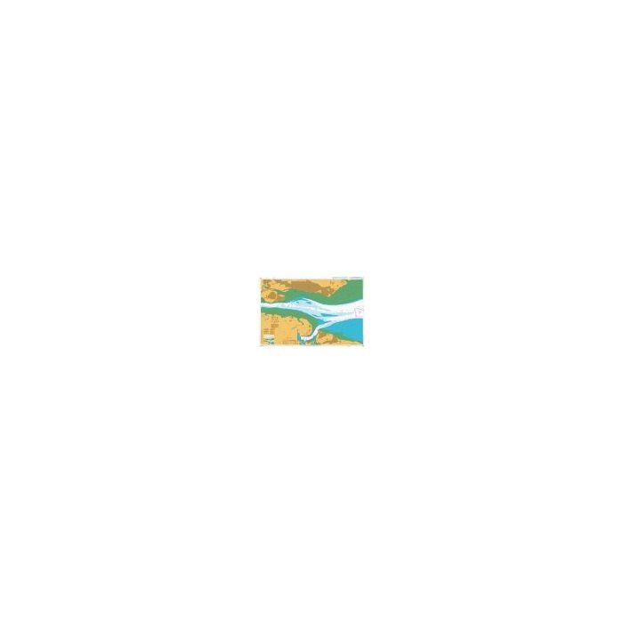 Admiralty Chart River Thames Sea Reach 1185