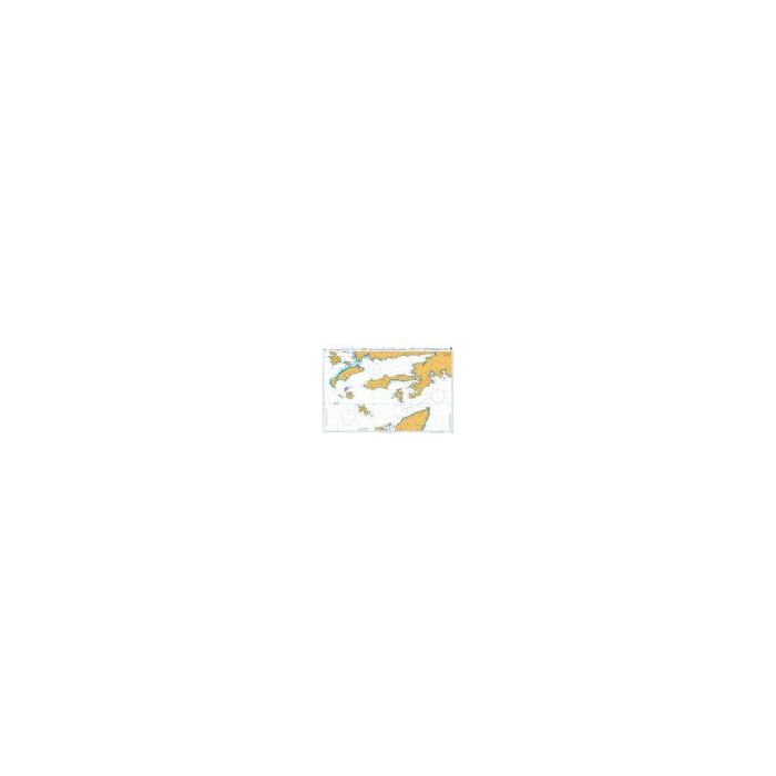 Admiralty Chart  Rhodes Channel and Gokova Korfezi 1055