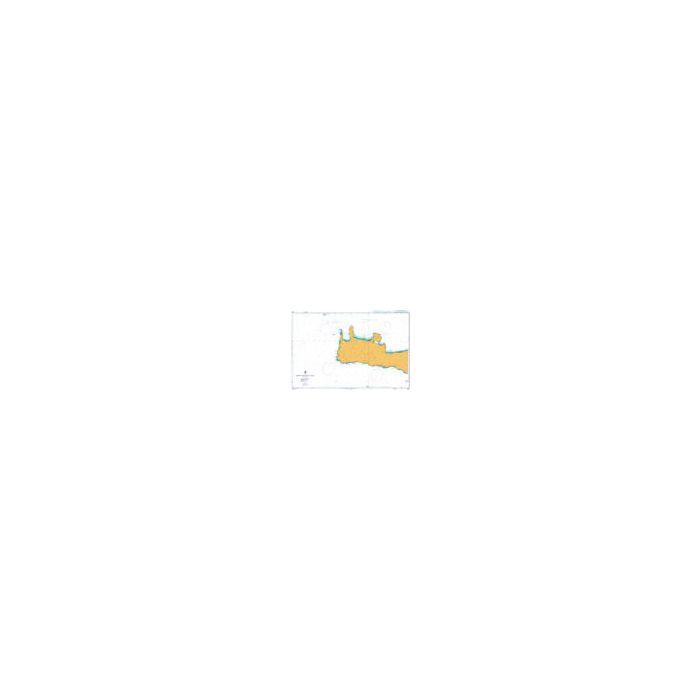 Admiralty Chart Kriti-Western Part 3681