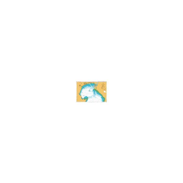 Admiralty Chart Bur el Suweis (Port of Suez) 3214