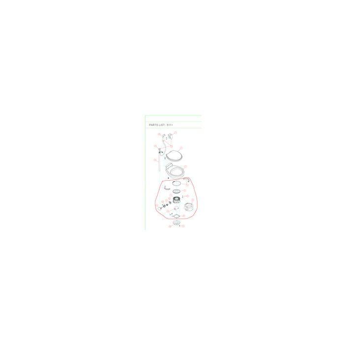 Sealand Traveller 511/911 Kit Base White or Bone Colour