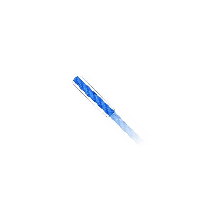 3 Strand Sturdee Type Rope  Blue