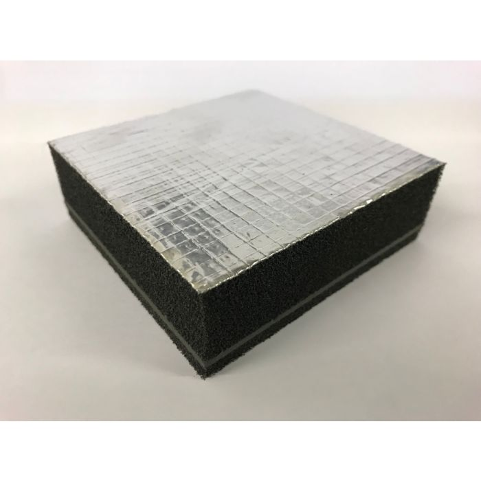 O Class Polymeric Barrier MetallIzed Polyester Face Soundproofing 32mm Thick 3ft x 2ft  Self Adhesiv