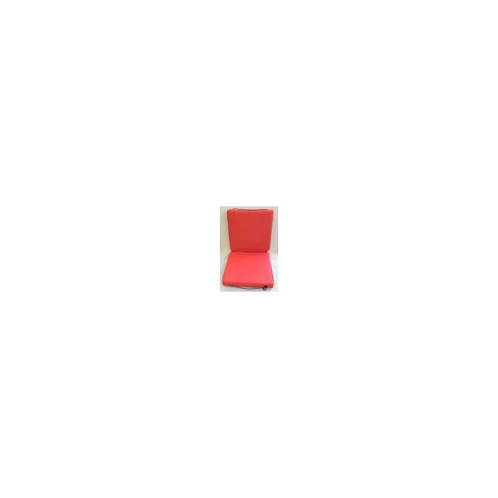 Buoyant Deck Cushion, Double, Red