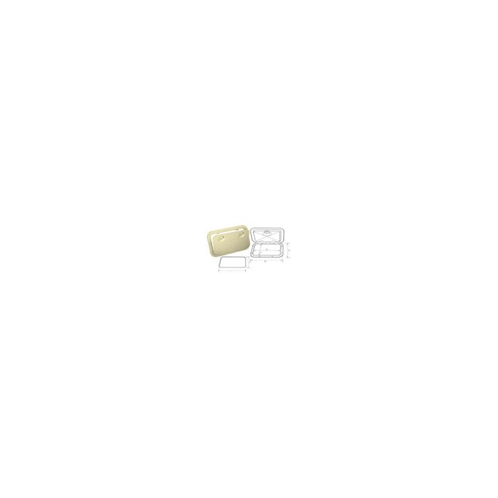 Access Hatch Cream with Removable Cover 355 x 600mm