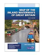 Map Inland Waterways Gt.Britain