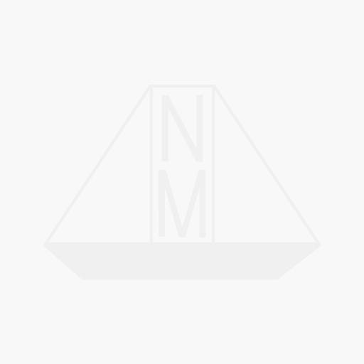Black Nylon Pump Out Deck Fitting 1 1/2