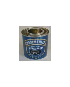 Hammerite Smoothrite Black 250ml & 750ml