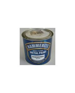 Hammerite Hammered Finish White 250ml & 500ml