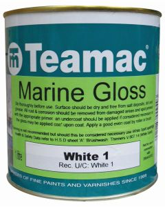 Teamac Marine Gloss (Stock Colours)