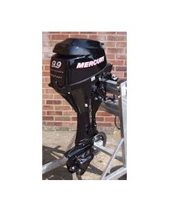 Mercury Outboard 9.9HP 4 Stroke Electric Start Long Shaft Bigft.