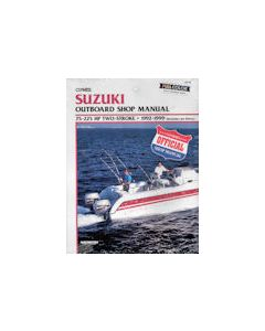 Suzuki 2 Str 75-225HP 1992-1999 Clymer Outboard Engine Manual