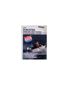 Tohatsu 2.5-140HP Clymer Outboard Engine Manual