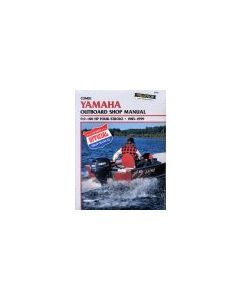 Yamaha 9.9-100HP 1985-1999 - Clymer Outboard Engine Manual