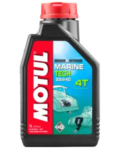 Motul 25W40 Marine Tech 4-Stroke Oil