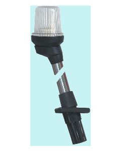 Pole Light  54cm Telescopic A/R White (Black)