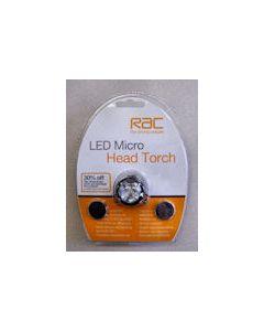 RAC LED Micro Head Torch