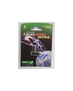 Lucas Alkaline Battery Size N 1.5 volt
