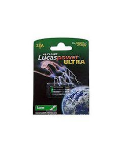 Lucas Alkaline Battery -Size 23A  12 volt