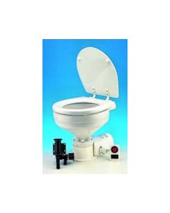 Jabsco Quiet Flush Regular Bowl Toilet with Intake Pump 12 volt