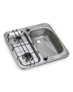 Dometic HS 2460R  2 Burner Hob & Sink