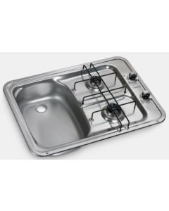 DOMETIC HS 2420 L  2 Burner Sink Combo Unit