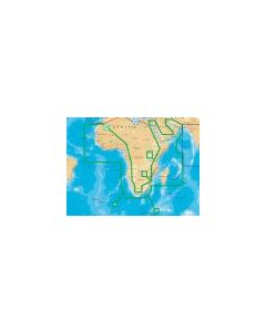 Navionics  Africa & Middle East 30XG Gold Card  (SD Card Format)