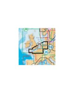Navionics Platinum 25P+ Card UK South/Hamburg  (CF Card Format)