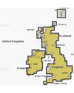 Navionics+ UK & Ireland Inland SD Card