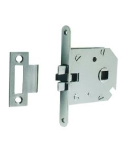 Anti Rattle Mortice Latch Chrome