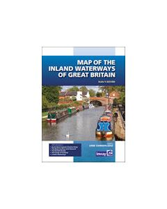 Map Inland Waterways Gt.Britain